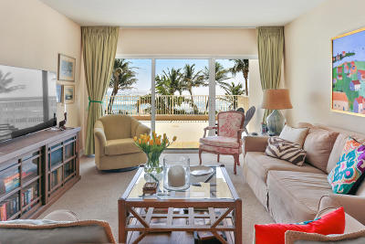 Highland Beach Condo Sold: 3101 S Ocean Boulevard #212