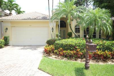 Delray Beach Single Family Home For Sale: 7895 L Aquila Way