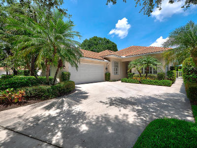 Palm Beach Gardens Single Family Home For Sale: 158 Lost Bridge Drive