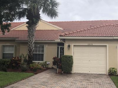 Boynton Beach Single Family Home For Sale: 12058 Napoli Lane