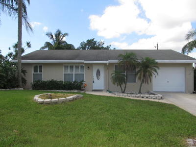 Boynton Beach Single Family Home For Sale: 3620 Aladdin Avenue