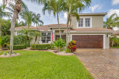 Boca Raton Single Family Home Contingent: 320 Seneca Lane