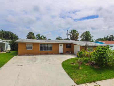 Palm Springs Single Family Home Contingent: 309 Riverdale Road