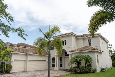 Lake Worth Single Family Home For Sale: 9207 Pineville Drive
