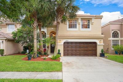 Lake Worth Single Family Home For Sale: 7714 Oak Grove Circle