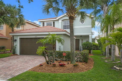 Royal Palm Beach Single Family Home Contingent: 11435 Sage Meadow Terrace