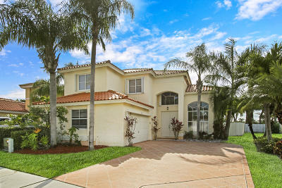 Lake Worth Single Family Home Contingent: 7294 Spinnaker Bay Drive
