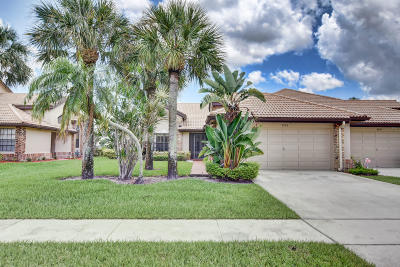 Boynton Beach Single Family Home For Sale: 8105 Cassia Drive