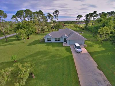 Loxahatchee Single Family Home For Sale: 14977 71st Place