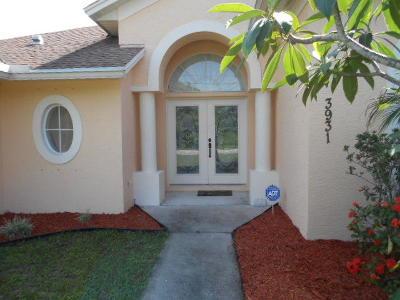 Port Saint Lucie Single Family Home For Sale: 3931 SW McIntyre Street