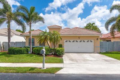 Boynton Beach Single Family Home For Sale: 217 Citrus Trail