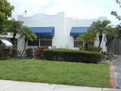 West Palm Beach Single Family Home For Sale: 835 Flamingo Drive