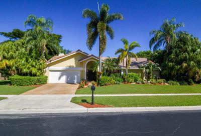 Boca Raton Single Family Home For Sale: 7264 Montrico Drive