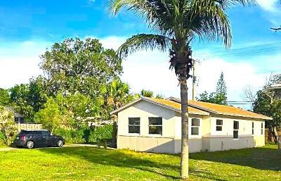 West Palm Beach Single Family Home For Sale: 710 51st Street