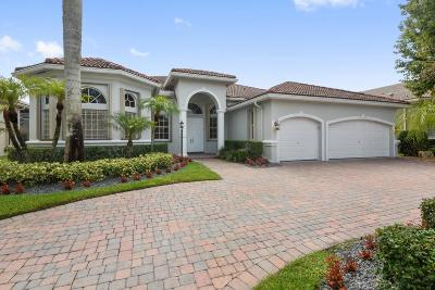Boca Raton Single Family Home For Sale: 21836 Cypress Palm Court