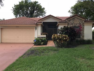 Boynton Beach Single Family Home For Sale: 4844 Navigator Lane