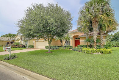 Stuart Single Family Home For Sale: 821 SW Blue Stem Way