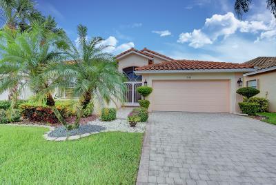 Boynton Beach Single Family Home For Sale: 7356 Trentino Way