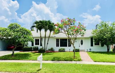 Lantana Single Family Home Contingent: 502 S 13th Place