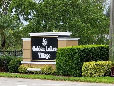 Golden Lakes Village Condo Contingent: 150 Lake Barbara Drive #150