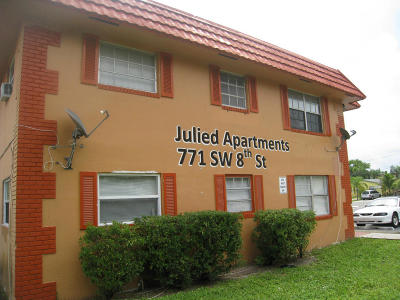 Pompano Beach Rental For Rent: 771 SW 8th Street #201