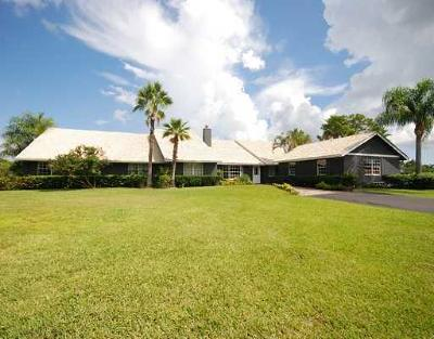 Jupiter Single Family Home Contingent: 3095 SE Ranch Acres Circle