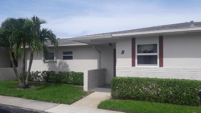 West Palm Beach Single Family Home For Sale: 2761 Emory Drive W #B