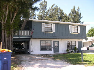 Fort Pierce Multi Family Home Contingent: 497 Howie Drive