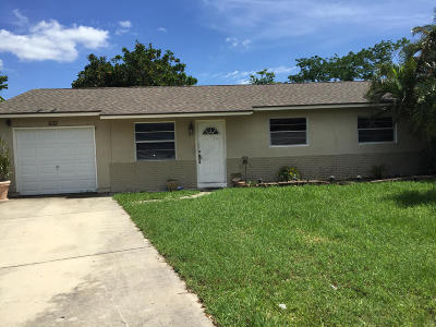 Jupiter Single Family Home Contingent: 533 E Whitney Circle