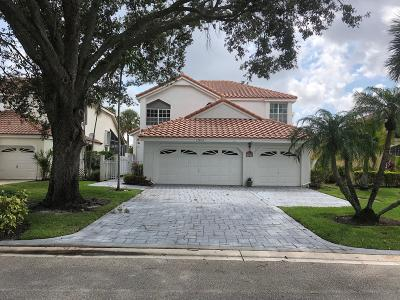 Palm Beach Gardens Single Family Home For Sale: 12835 Oak Knoll Drive