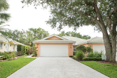 Jupiter Single Family Home For Sale: 134 Brier Circle