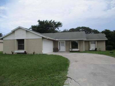 Port Saint Lucie Single Family Home Contingent: 2299 SE Monitor Street