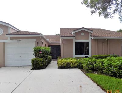 Boca Raton Single Family Home Contingent: 8266 Springlake Drive