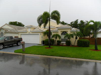 West Palm Beach Single Family Home For Sale: 4973 Broadstone Circle