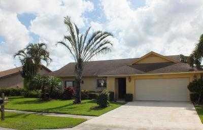Lake Worth, Lakeworth Single Family Home For Sale: 5190 Whitewood Cove S
