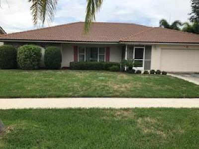 Tequesta Single Family Home Contingent: 6 Hickory Hill Road