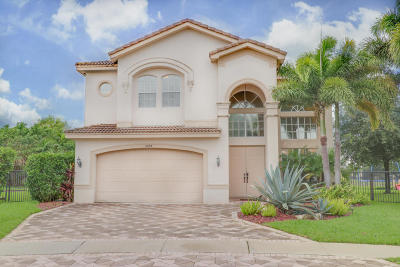 Boynton Beach Single Family Home For Sale: 8684 Breezy Hill Drive