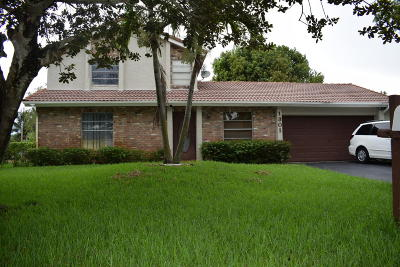 Coral Springs Single Family Home For Sale: 1301 NW 89th Drive