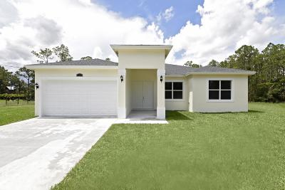 Loxahatchee Single Family Home For Sale: 17186 73rd Court