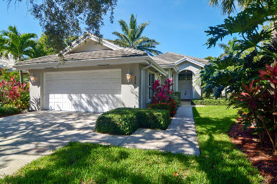 Jupiter Single Family Home For Sale: 172 Hampton Circle