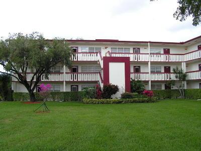 Boca Raton Condo For Sale: 143 Fanshaw D #D