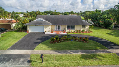 Delray Beach Single Family Home For Sale: 3324 Lakeview Boulevard
