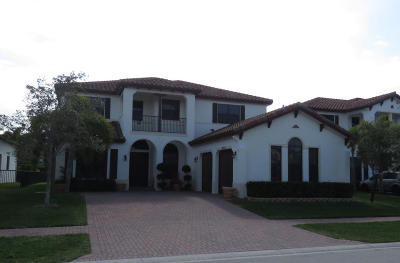 Lake Worth Single Family Home For Sale: 6478 Vireo Court