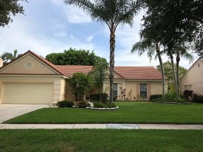 Palm Beach Gardens Single Family Home For Sale: 10108 Hunt Club Lane