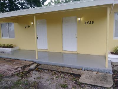 West Palm Beach Single Family Home For Sale: 2424 Nokomis Avenue