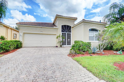 Delray Beach Single Family Home Contingent: 15303 Fiorenza Circle