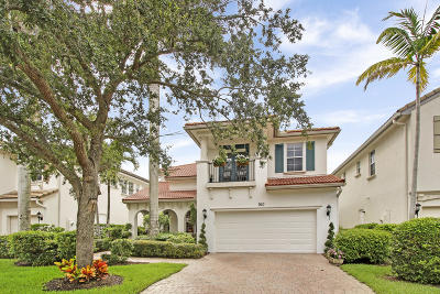 Palm Beach Gardens Single Family Home Contingent: 760 Bocce Court