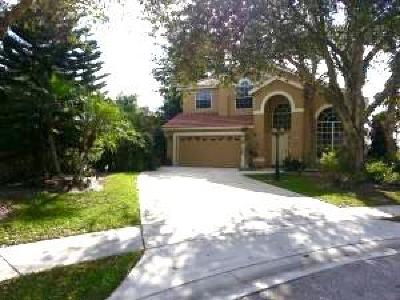 Lake Worth Single Family Home For Sale: 7446 Bryson Court