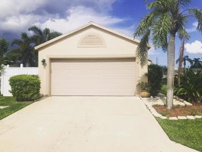 Boynton Beach Single Family Home For Sale: 36 Bentwater Circle