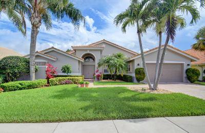 Boynton Beach Single Family Home For Sale: 7273 Falls Road E